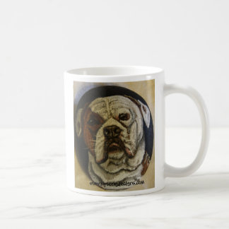 ¡AMO MI DOGO AMERICANO! TAZA DE CAFÉ