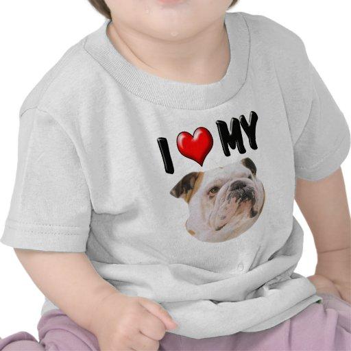 Amo mi dogo camisetas