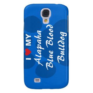 Amo mi dogo de la sangre azul de Alapaha Funda Para Galaxy S4