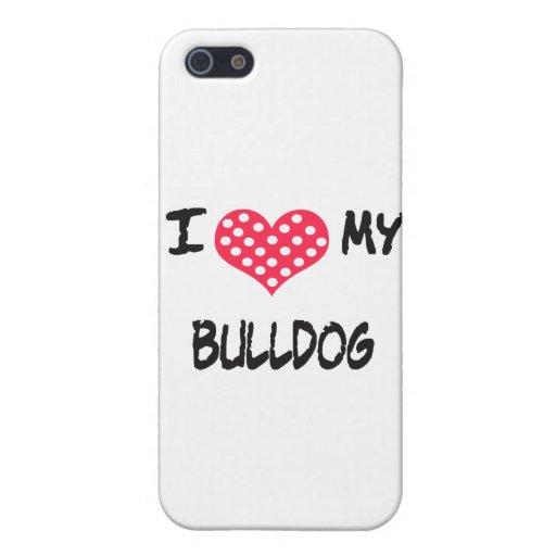AMO MI DOGO iPhone 5 CARCASAS