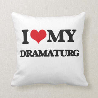 Amo mi Dramaturg Cojines
