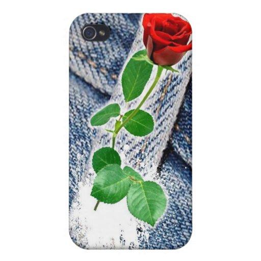 amo mi dril de algodón iPhone 4 fundas