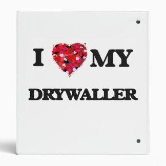 Amo mi Drywaller Carpeta 2,5 Cm