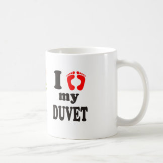 Amo mi Duvet Taza De Café