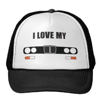 amo mi E28 Gorras De Camionero
