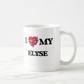 Amo mi Elyse Taza Clásica