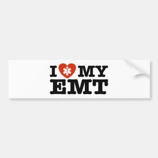 Amo mi EMT Pegatina Para Auto
