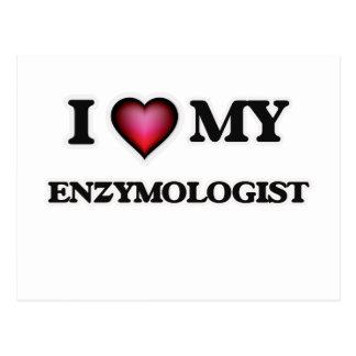 Amo mi Enzymologist Postal