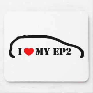 Amo mi EP2 Tapete De Ratones