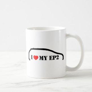 Amo mi EP2 Tazas De Café