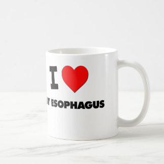 Amo mi esófago tazas de café