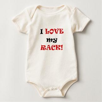 Amo mi estante mamelucos de bebé