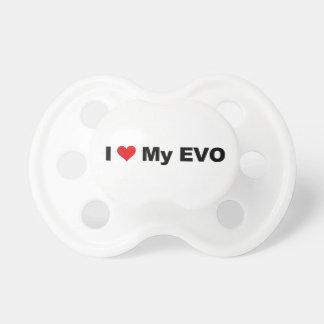 Amo mi EVO Chupete