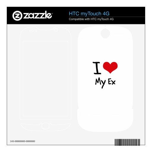Amo mi ex HTC myTouch 4G skin