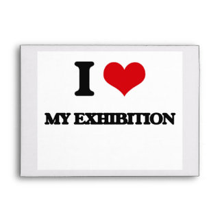 Amo mi exposición sobres
