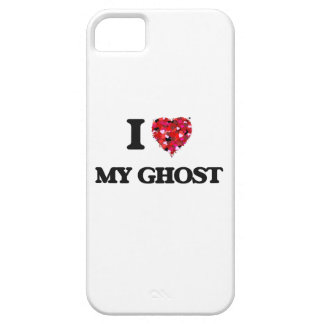 Amo mi fantasma iPhone 5 carcasas