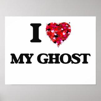Amo mi fantasma póster