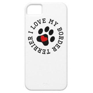 Amo mi frontera Terrier iPhone 5 Case-Mate Cobertura