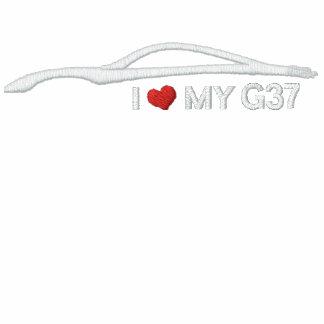 Amo mi G37 Chaqueta Bordada De Entrenamiento