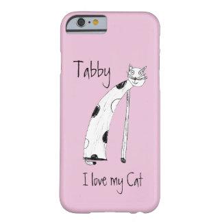 Amo mi gato funda de iPhone 6 barely there