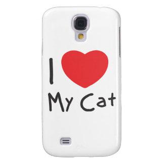 Amo mi gato funda para galaxy s4