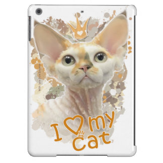Amo mi gato funda para iPad air