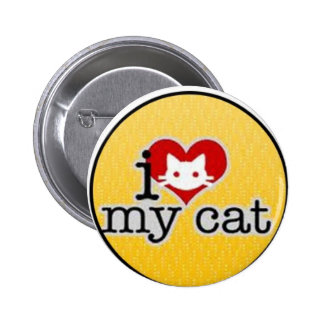 amo mi gato pin redondo 5 cm