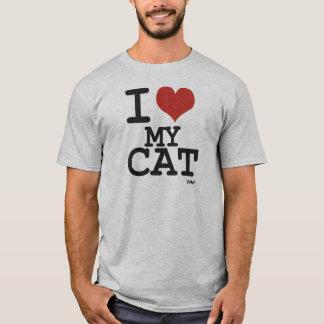 Amo mi gato playera