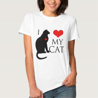 Amo mi gato poleras