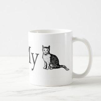 Amo mi gato taza de café