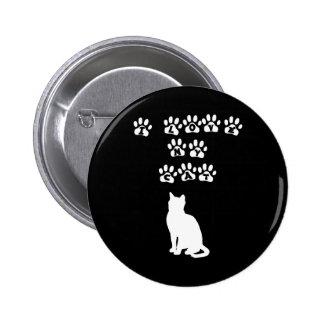 Amo mi gato--Texto blanco Pin