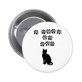 Amo mi gato--Texto negro Pins