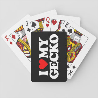 AMO MI GECKO CARTAS DE JUEGO
