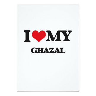 Amo mi GHAZAL Comunicados Personales