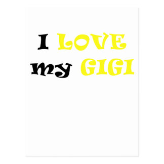 Amo mi Gigi Postales