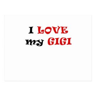 Amo mi Gigi Tarjetas Postales