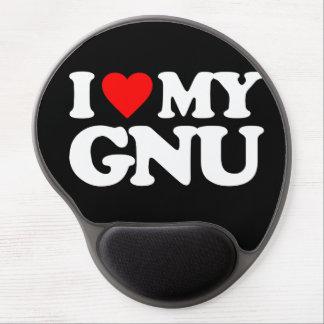 AMO MI GNU ALFOMBRILLA DE RATON CON GEL