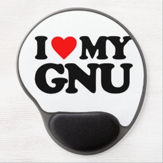 AMO MI GNU ALFOMBRILLA CON GEL