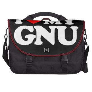 AMO MI GNU BOLSAS DE ORDENADOR