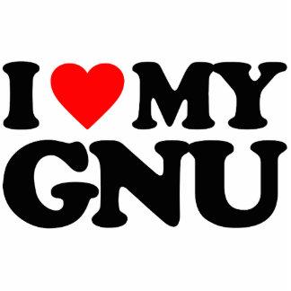 AMO MI GNU ESCULTURAS FOTOGRAFICAS