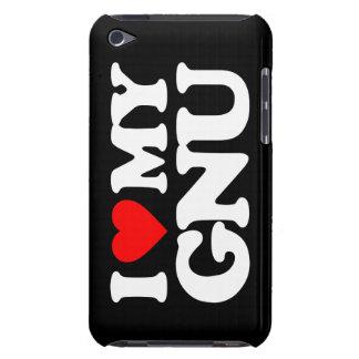 AMO MI GNU iPod TOUCH FUNDA