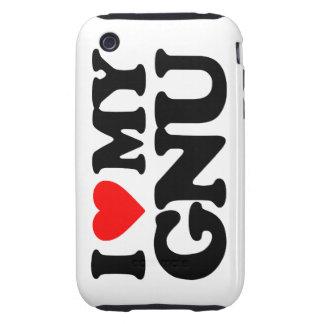 AMO MI GNU TOUGH iPhone 3 COBERTURAS