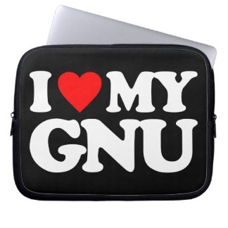 AMO MI GNU MANGAS PORTÁTILES