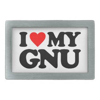 AMO MI GNU HEBILLAS DE CINTURON