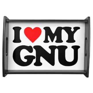 AMO MI GNU BANDEJAS