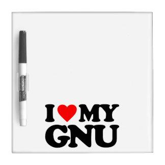 AMO MI GNU PIZARRAS
