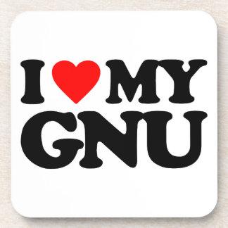 AMO MI GNU POSAVASOS