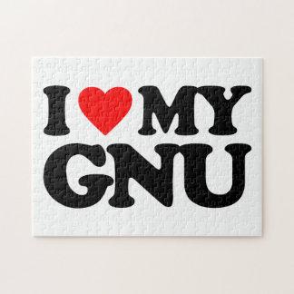 AMO MI GNU PUZZLE
