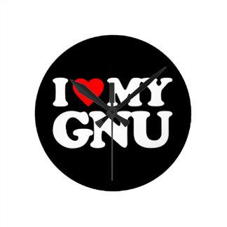 AMO MI GNU RELOJES