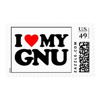 AMO MI GNU SELLO